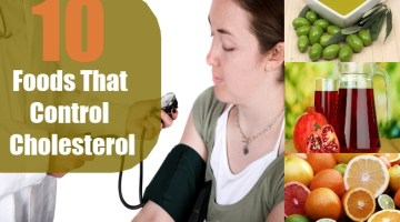Foods That Control Cholesterol