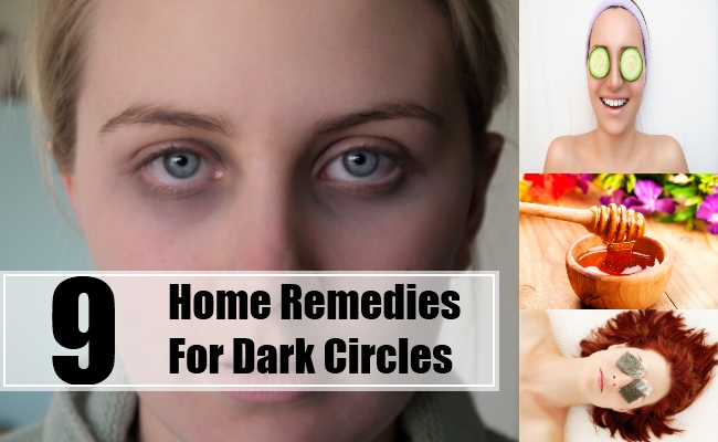 Home Remedies For Dark Circles