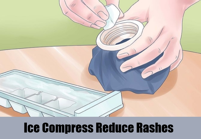 Ice Compress Reduce Rashes
