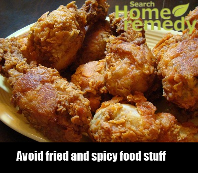 fried and spicy food