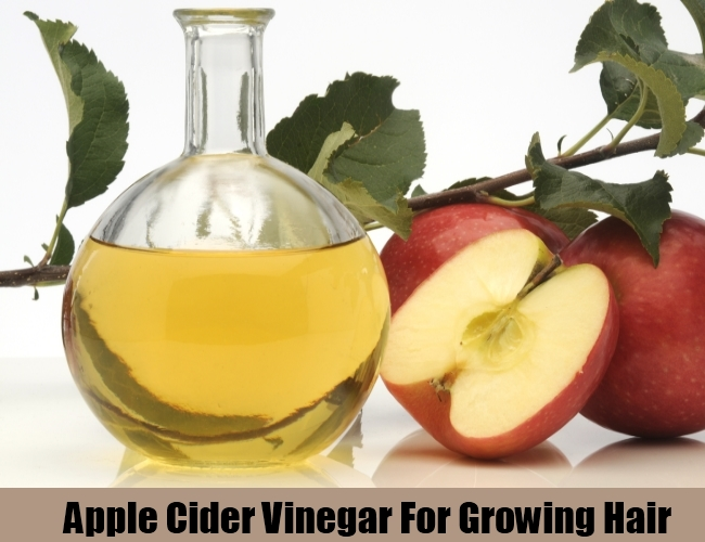 Apple Cider Vinegar For Growing Hair