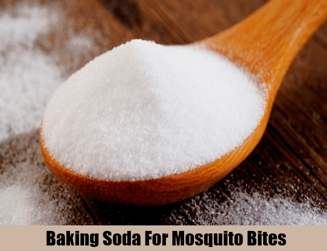 Baking Soda For Mosquito Bites