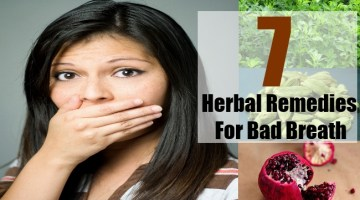 Herbal Remedies For Bad Breath