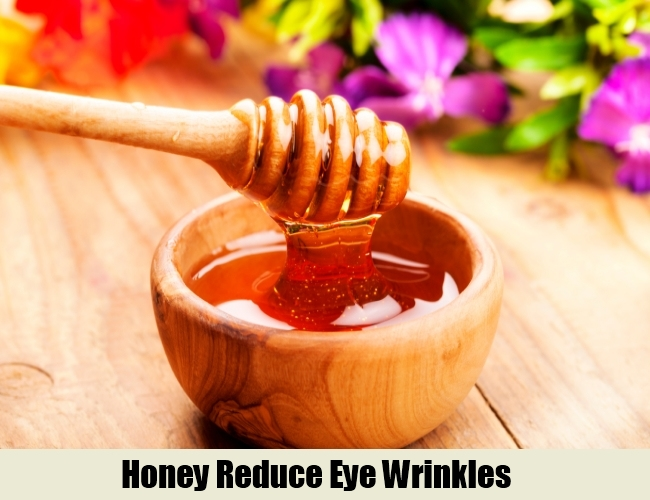Honey Reduce Eye Wrinkles