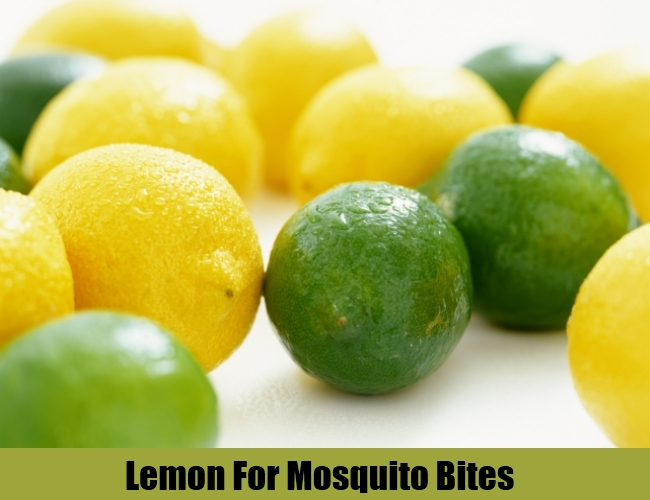 Lemon For Mosquito Bites