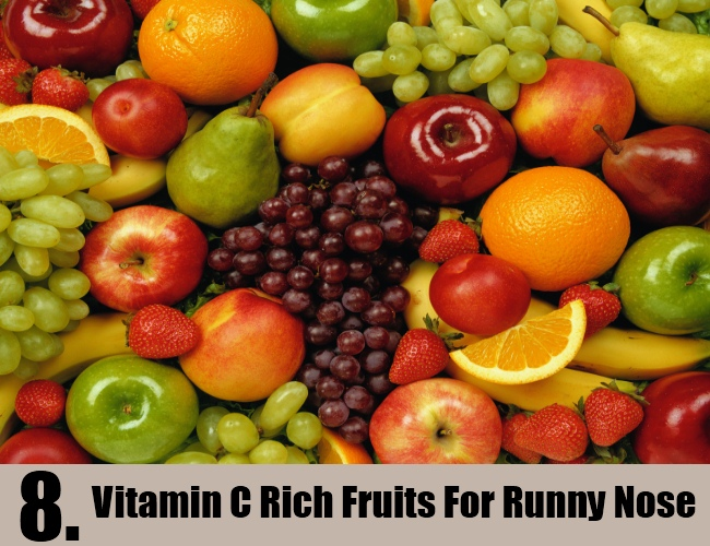 Vitamin C Rich Fruits For Runny Nose
