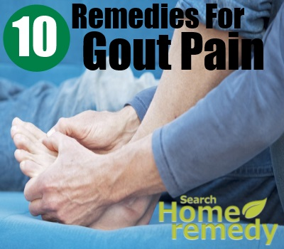 10 Home Remedies For Gout Pain