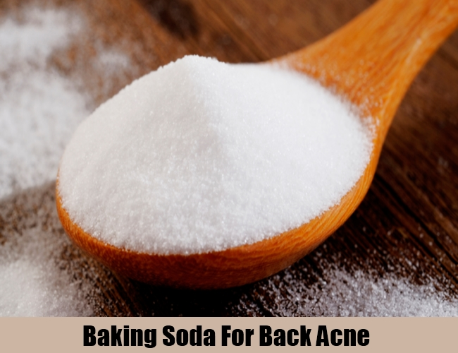Baking Soda For Back Acne