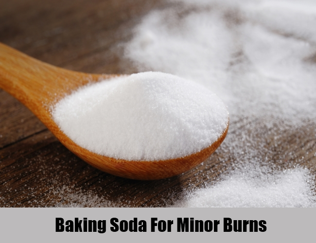 Baking Soda For Minor Burns
