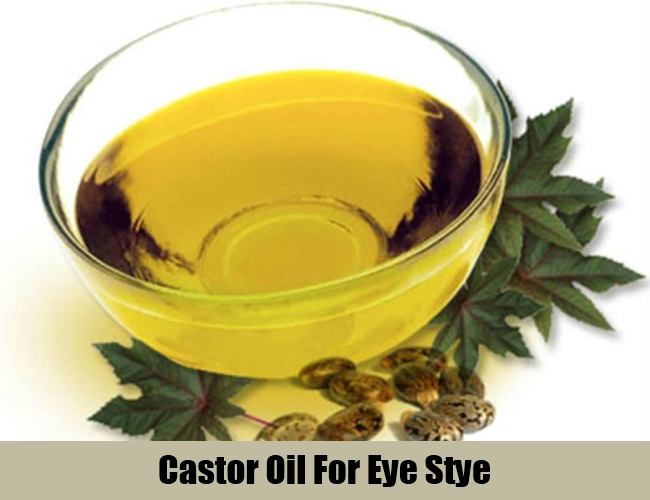 Castor Oil For Eye Stye