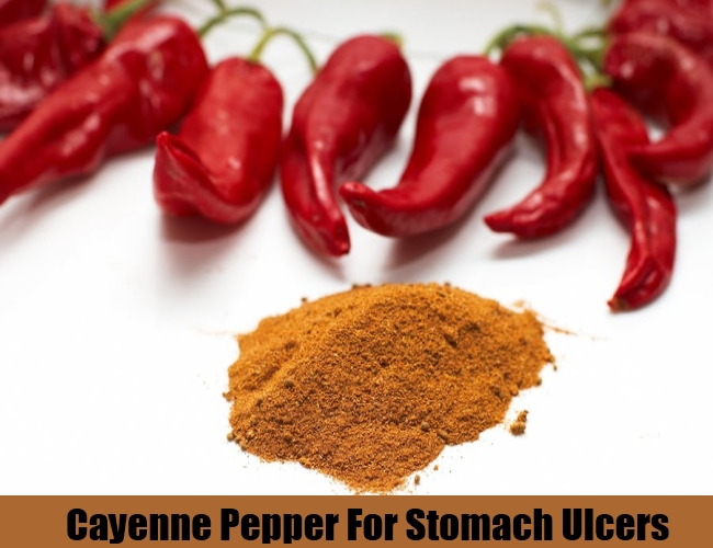 Cayenne Pepper For Stomach Ulcers
