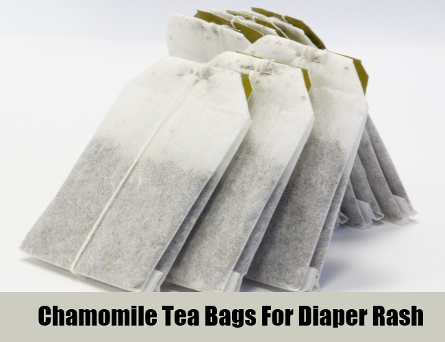 Chamomile Tea Bags For Diaper Rash