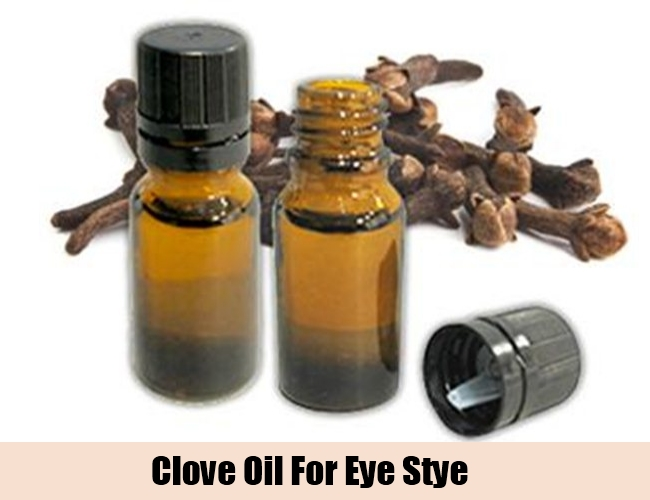 Clove Oil For Eye Stye