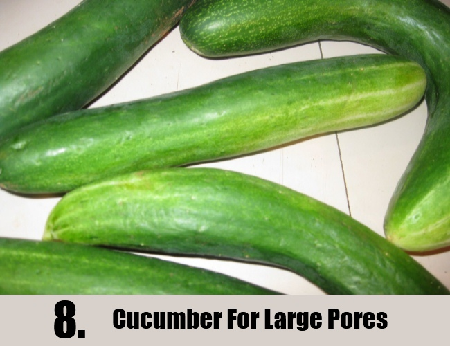 Cucumber For Large Pores