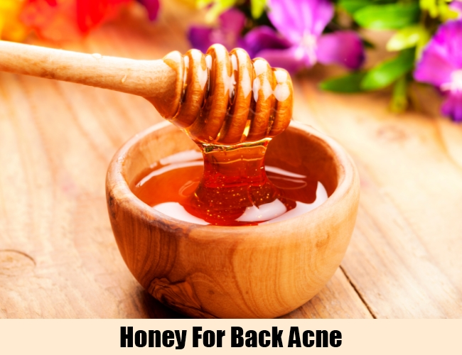 Honey For Back Acne