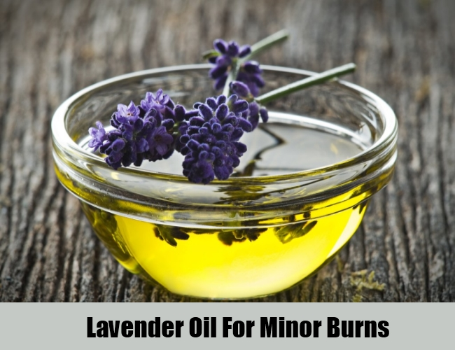 Lavender Oil For Minor Burns