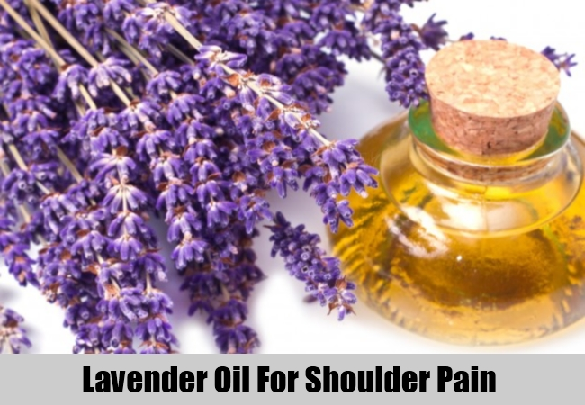 Lavender Oil For Shoulder Pain