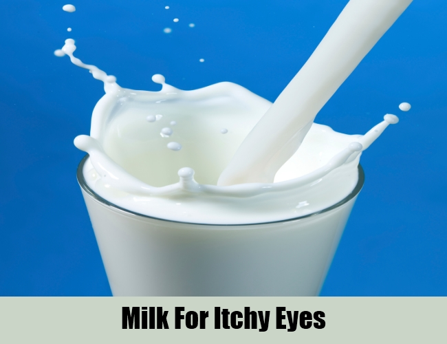 Milk For Itchy Eyes