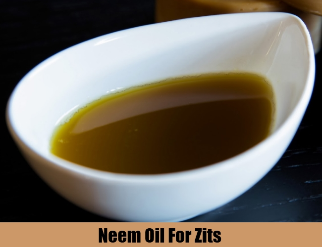 Neem Oil For Zits