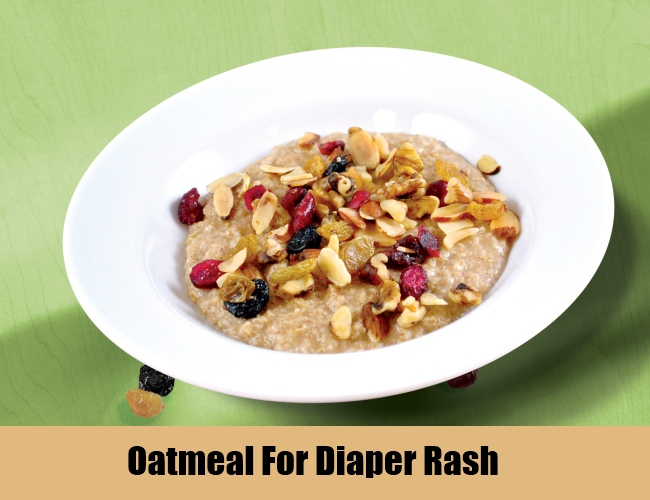 Oatmeal For Diaper Rash