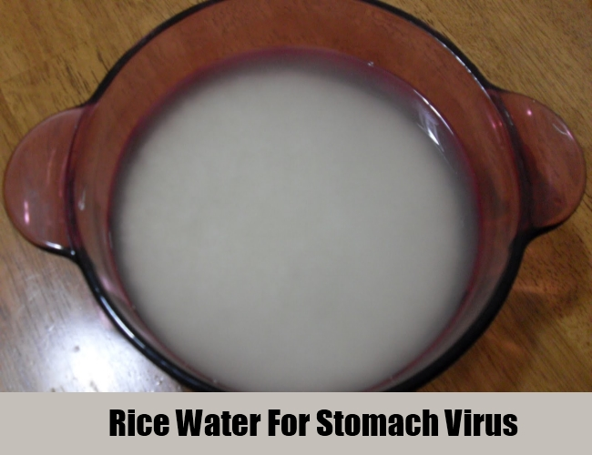 Rice Water For Stomach Virus