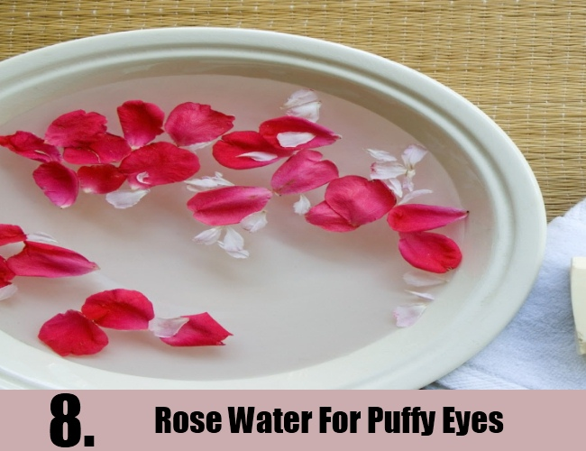 Rose Water For Puffy Eyes