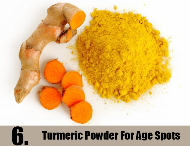 Turmeric Powder For Age Spots