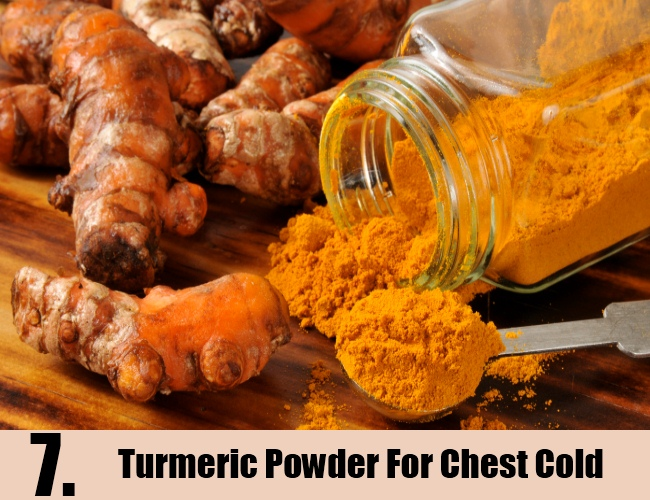Turmeric Powder For Chest Cold