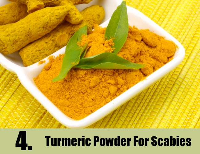 Turmeric Powder For Scabies