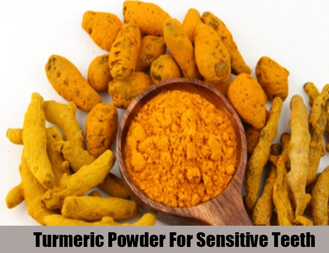 Turmeric Powder For Sensitive Teeth