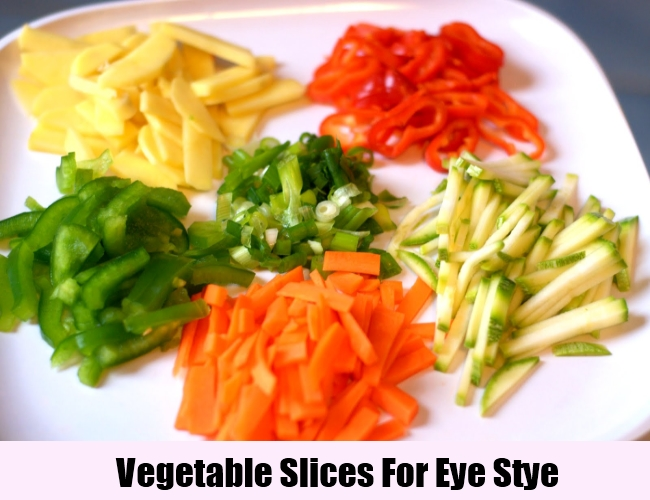 Vegetable Slices For Eye Stye