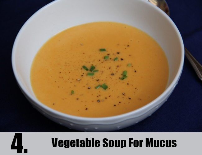 Vegetable Soup For Mucus