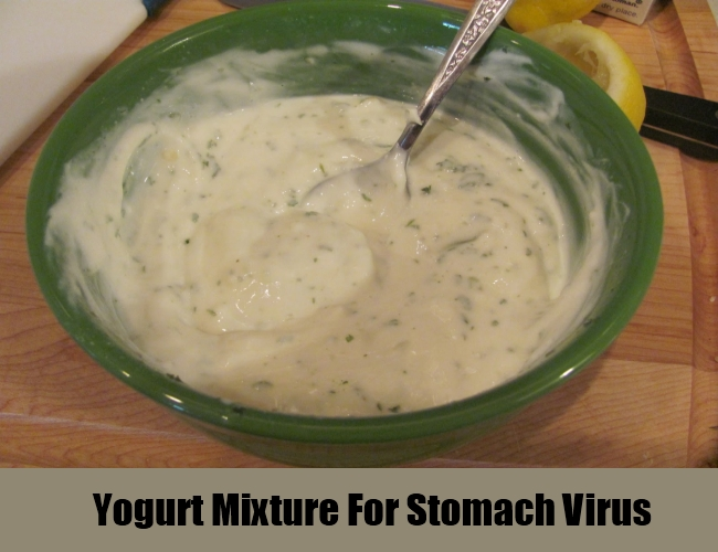 Yogurt Mixture For Stomach Virus