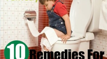 10 Home Remedies For Constipation In Children