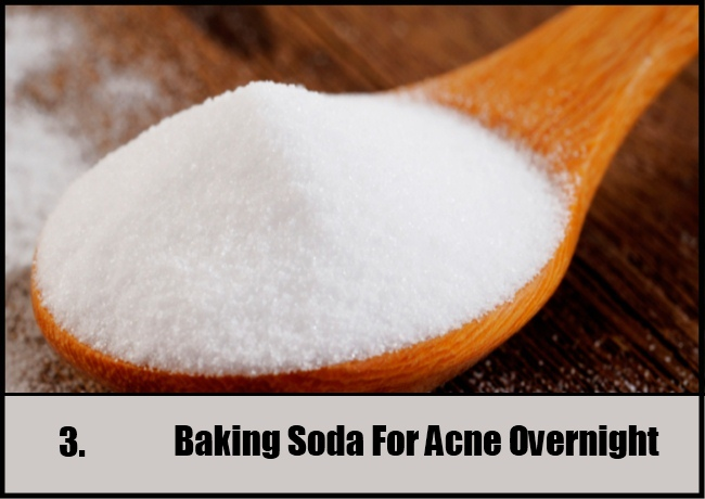 Baking Soda For Acne Overnight