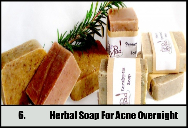 Herbal Soap For Acne Overnight