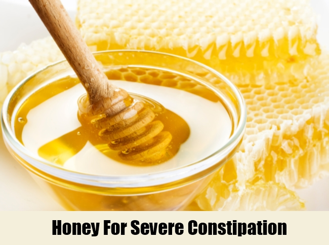 Honey For Severe Constipation