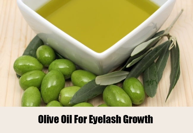 Olive Oil For Eyelash Growth