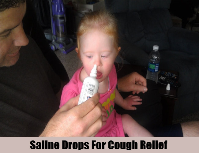 Saline Drops For Cough Relief