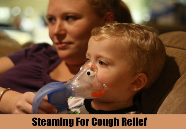Steaming For Cough Relief