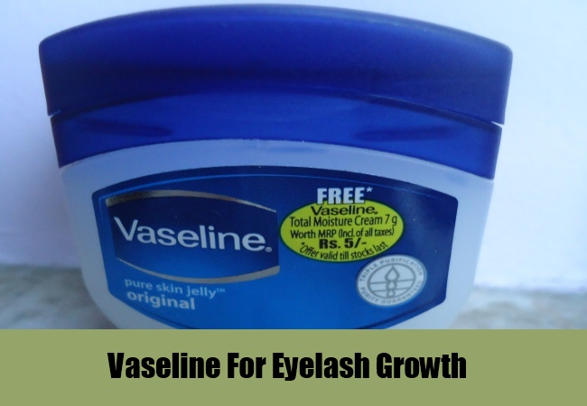 Vaseline For Eyelash Growth