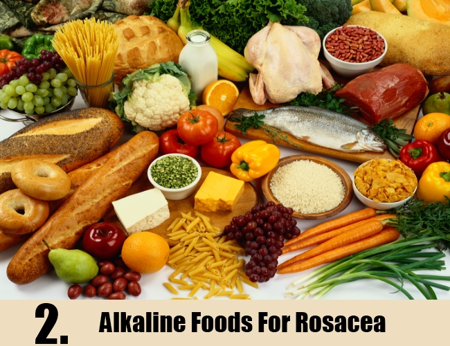Alkaline Foods For Rosacea