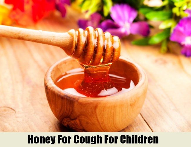 Honey For Cough For Children