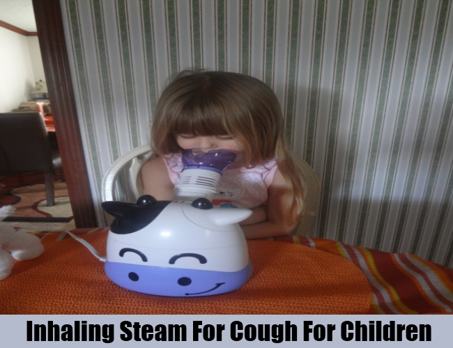 Inhaling Steam For Cough For Children