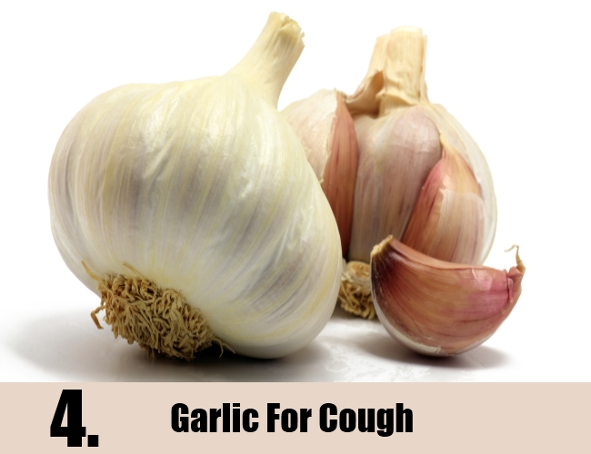 Garlic For Cough