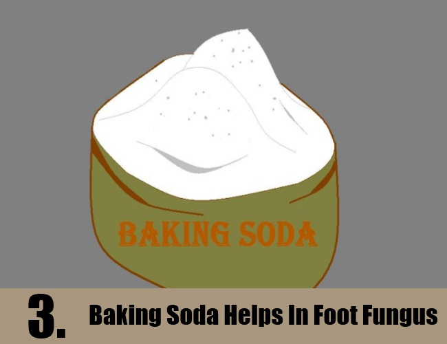 Baking Soda Helps In Foot Fungus