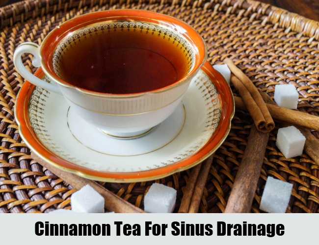 Cinnamon Tea For Sinus Drainage