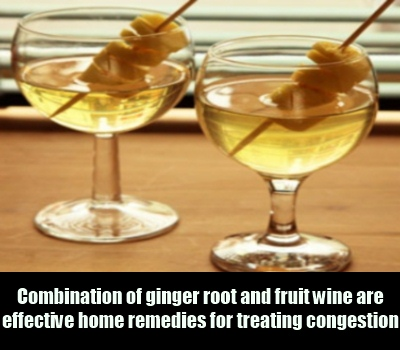 Ginger and Wine Treatment