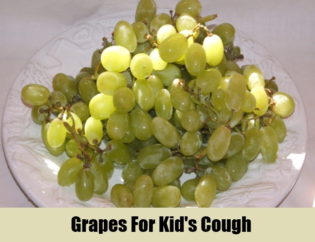 Grapes For Kid's Cough