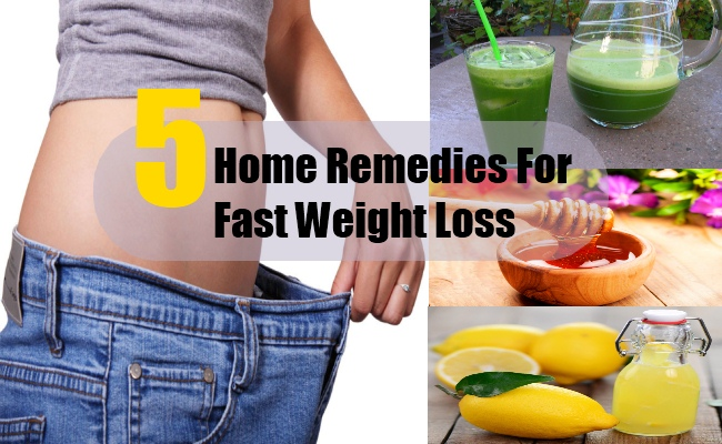 Home Remedies For Fast Weight Loss